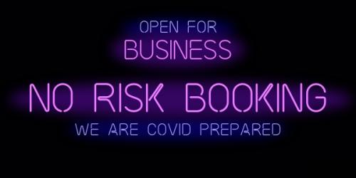Open for Business - COVID19 Safety & Prevention Policy.