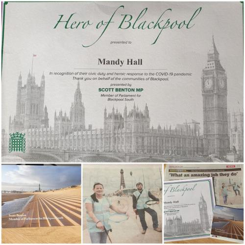 Hero of Blackpool Resort Family Recognised by the House of Commons
